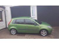 Fiesta... Apple Green..12 months MOT...Service....2 keys.....