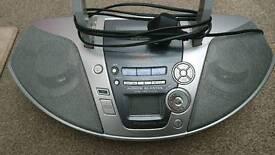 Working mp3 radio player Panasonic
