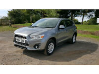 Mitsubishi ASX 1.6 2 5dr very low miles 8700