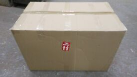 5 extra large very strong cardboard boxes. ideal for moving 31 in long x 18 ins wide x 19 ins deep