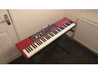 Nord Electro 5D 73 Semi Weighted Waterfall (SW) Keys