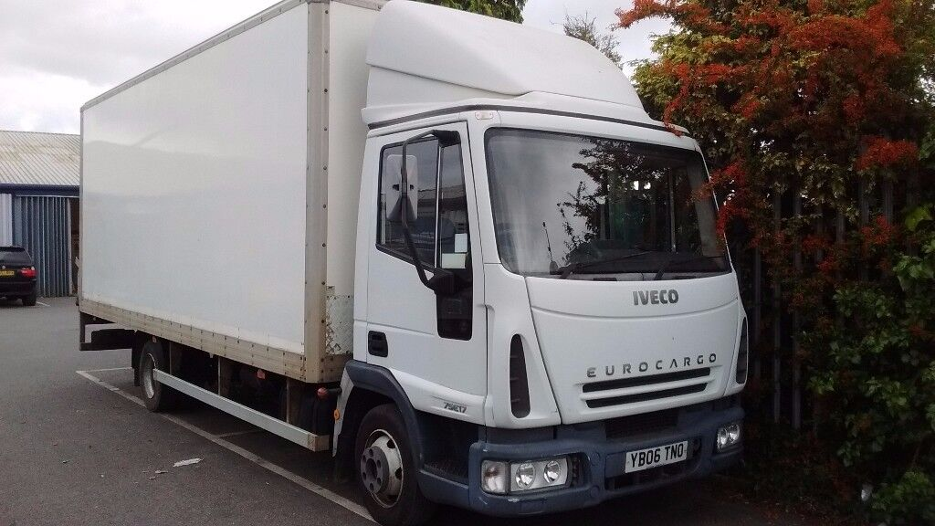Reduced 7.5 ton Iveco Eurocargo 2006 75E17 Box lorry with tail lift