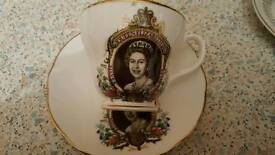 Vintage tea cups and saucers