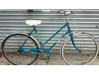 Ladies Vintage Raleigh Campus Bicycle For Sale in Good Working Order