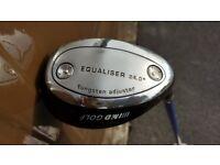 "MD Golf ""Equaliser"" 24 Degree (#4) Hybrid, RH"