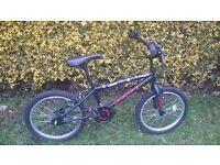 Kids bmx bike hardly used