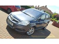 2008 Vauxhall Zafira Elite 1.9 Cdti [150] Diesel TOP SPEC, 7 seater, MOT April 2017, Not Verso C3 C5