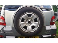 Renault RX4 spare wheel & tyre.
