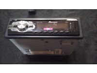 Pioneer cd player usb port aux input jack rds model number deh-140ub