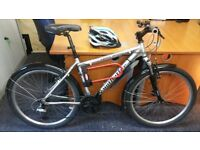 Mountain Bicycle 21 Speed, New Helment, D-Lock and Free accessories