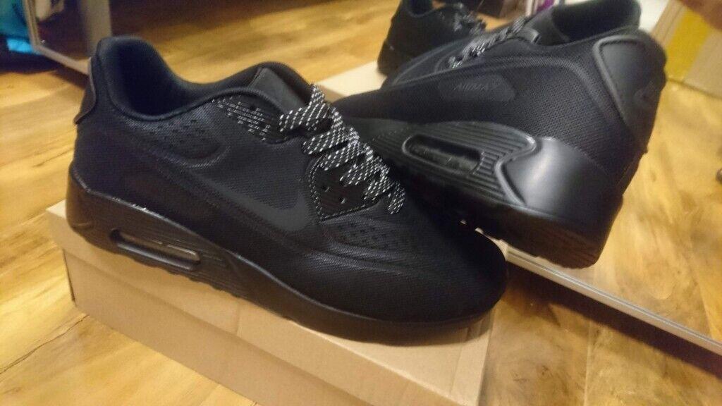 buy online 7adbe f3106 Nike Air max 90 Triple Black Air force 1 95 Size 7, 7.5, 8.5, 9 Adidas  ralph lauren air jordan yeezy