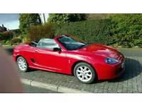 Mg tf red 2005 convertible mot to nov ready to go, mx5 alternative