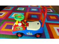 Mickey Mouse Activity Ride on car bike toy foot to floor