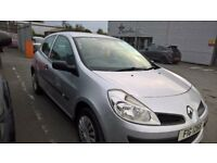 2007 Renault Clio 1.2 Freeway, MOT until September 2018.