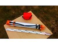 A1 EQUIPMENT SITE LEVEL KIT HAD VERY LITTLE USE READY FOR WORK £195