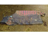 5'6 Funnell Patriot Turnout Rug 250g approx Red and Blue
