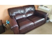 2 Seat Sofa REAL Leather