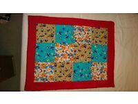 Beautifil children blanket, very colourful, soo soft