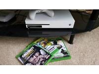 Xbox one s console & games SOLD