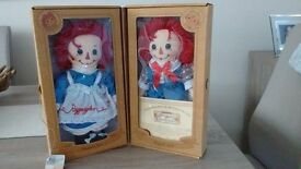 Raggedy Ann & Andy Collectable Dolls