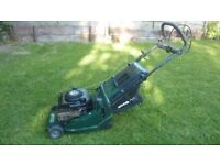 Atco self propelled roller mower