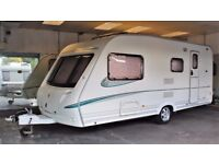 2006 ABBEY AVENTURA 325, 4 BERTH WITH END BATHROOM & AWNING, CRiS CHECK - SEPARATE SHOWR - EXTRAS!