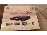LG External/GE20 super multi DVD rewriter