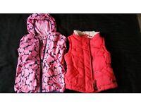 Girl's coats size 4-5 years