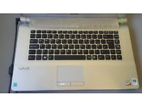 "Sony Vaio VGN-FW31E, 15.6"", Core2Duo processor at 2.0GHz/500gb HDD, 4GB RAM"