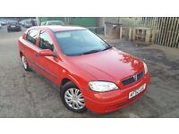 Vauxhall Astra 1.6 i Club 5dr (a/c), AUX LEAD, NEWLY POLISHED, HPI CLEAR, NEW STERIO, P/X TO CLEAR