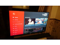 Sony LCD TV 43'' with Android, model 43W805