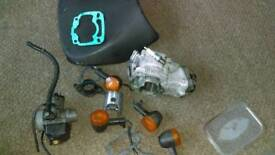 Rs 125 parts