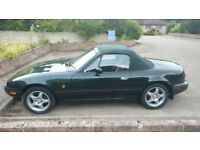 Mazda MX5 Mk1 1.8 special edition, 2 door convertible. Undersealed professionally and free of rust
