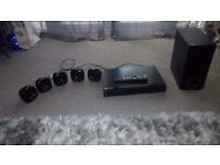 LG Blu Ray Player and surround system