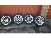 Vw golf 18inch alloy wheels