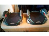 FIVE CHILD CAR BOOSTER SEATS