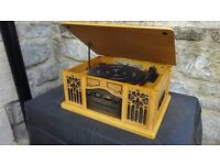 Prolectrix Turntable/radio/cd & cassette player