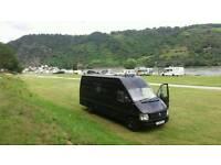 VW Transporter LT LWB converted campervan