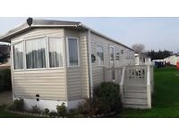 Holiday caravans for hire Suffolk Sands Felixstowe 4 berth no pets or long term lets
