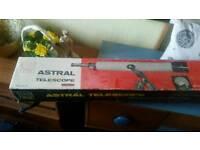 Astral 60 power telescope. Vintage looking