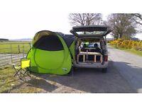 Citroen Berlingo Space Camper Van Microvan Wild Stealth Camping 5 travelling seats Sleeps 4