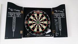 Ted Hankey Darts Board for Sale