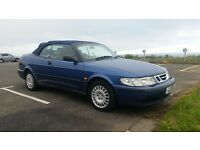 saab 93 s convertible 62000mls