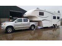 Toyota Hilux and Celtic Rambler 5th Wheel Motorhome/Caravan Leisure Trailer