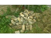 Hardcore/infill broken bricks/rubble