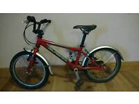 Islabikes Cnoc 16 Red. Child's first bike, suit age 4
