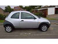 2008 Silver Ford Ka Studio 1.3L IDEAL FIRST CAR 69,000 miles