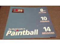 Paintballing Tickets FREE PAINTBALLS