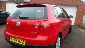 VW GOLF MK5,6SPEED, I LONG MOT, SERVICE HISTORY, CHEAP ON FUEL TAX, TIDY, BIG BOOT, £1395 ONO