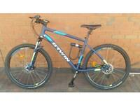 "ROCKRIDER 520 MOUNTAIN BIKE, 27.5"" - BLUE"